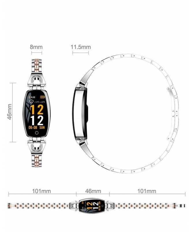 SMARTWATCH DAMSKI RB78